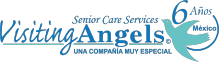 Visiting Angels Cancún Logo